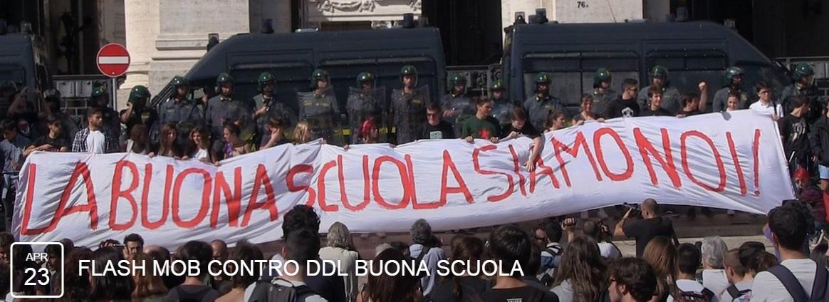 BuonaScuola-flashmob
