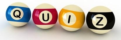 Billiard Balls and Quiz
