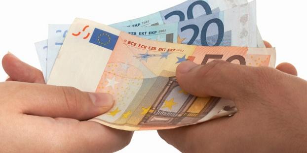 paying euros