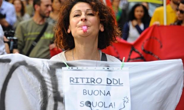 protesta-BuonaScuola1