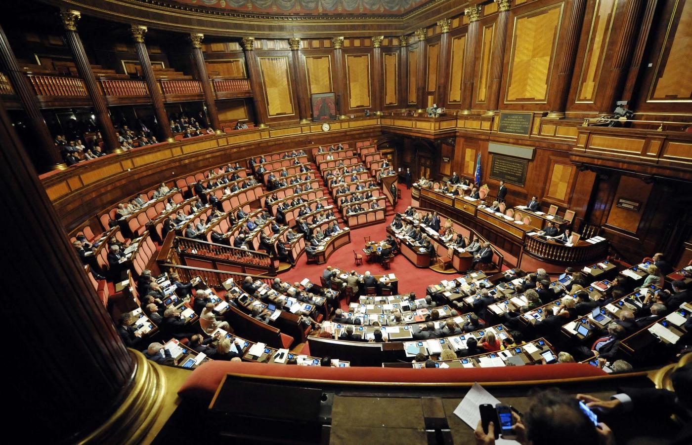 Senato - Informativa del Presidente del Consiglio Matteo Renzi sulle linee di attuazione del piano di governo