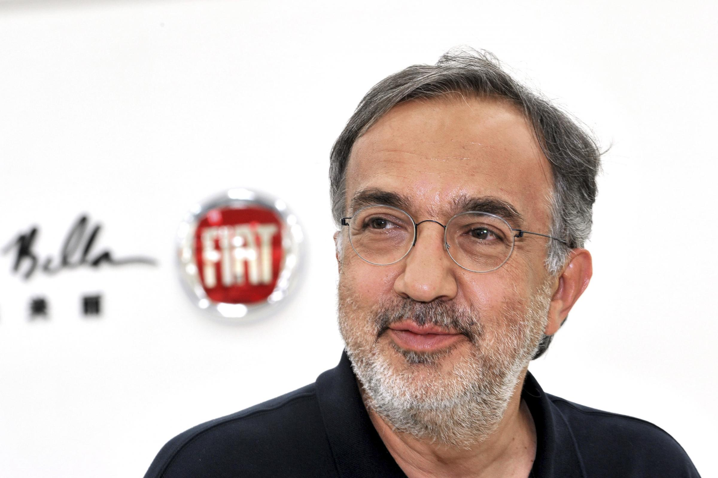Sergio Marchionne, CEO of Fiat SpA, speaks during an interview at the Italian auto maker's joint venture plant with Guangzhou Automobile Corp (GAC) in Changsha, capital of central China's Hunan province, Thursday June 28, 2012. Fiat-Chrysler APAC announced the start of production of the Fiat Viaggio at the GAC-Fiat's joint venture facility in China. (AP Photo) CHINA OUT