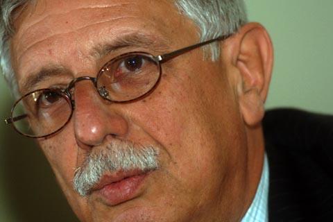 LE DIECI GIORNATE DI BRESCIA INTERVISTA GIORGIO ISRAEL NELLA FOTO GIORGIO ISRAEL   SPETTACOLI BRESCIA 23/09/2007 FOTO MATTEO BIATTA