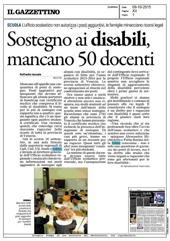 gazzettino9ottobre2015