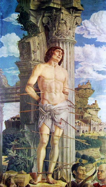 Mantegna - San Sebastiano1