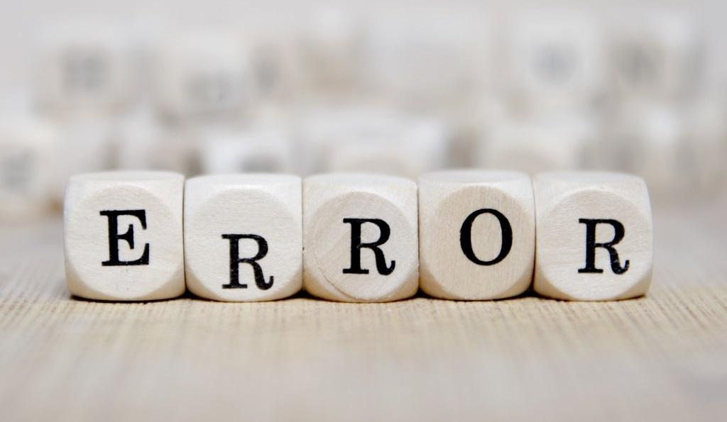 errore22