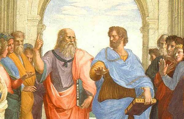 Raffaello_Socrate-Platone2