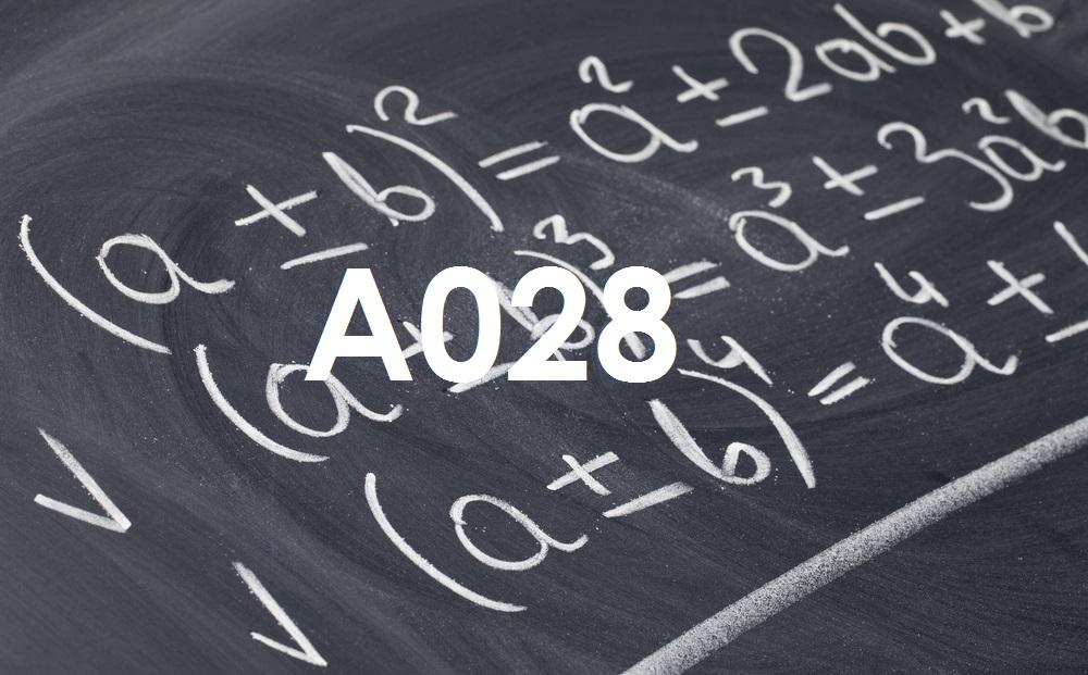 matematica-A028