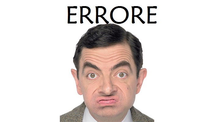 mr Bean errore1